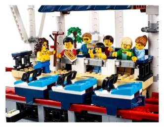 LEGO 10261 Creator Expert Roller Coaster achtbaan 8