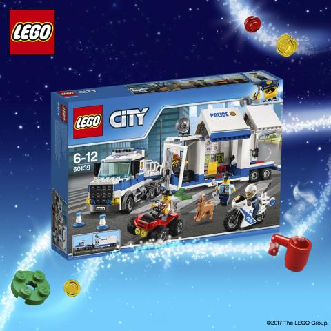 LEGO 60139 City Politie Mobiele Commandocentrale 8