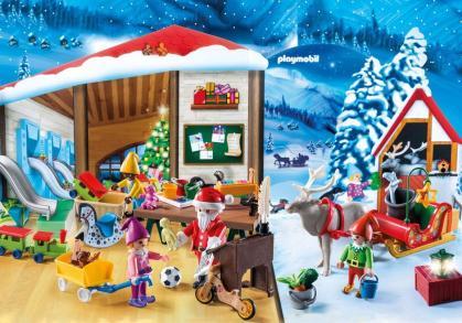 PLAYMOBIL 9264 Adventskalender Kerstatelier met elfen 3