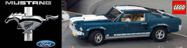 LEGO BANNER FORD MUSTANG 20190226